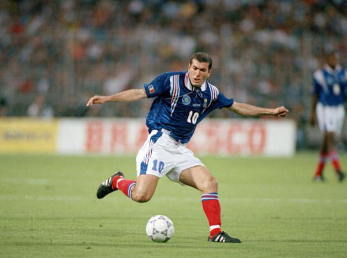 Euro '96, Zidane'ın ilk büyük turnuvasıydı