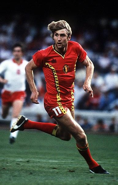 WORLD CUP 1982 SPAIN. PHOTO ROGER PARKER FOTOSPORTS INT'L JAN CEULEMANS (BELGIUM)