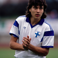 29.08.1990, Kuusankoski, Finland. Friendly international match, Finland v Czechoslovakia. Jari Litmanen - Finland ©JUHA TAMMINEN