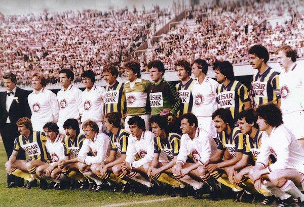 1981 | Fenerbahçe & Johan Cruyff ve Fatih Terim'in forma giydiği Avrupa Karması (Ali Sami Yen Stadı)