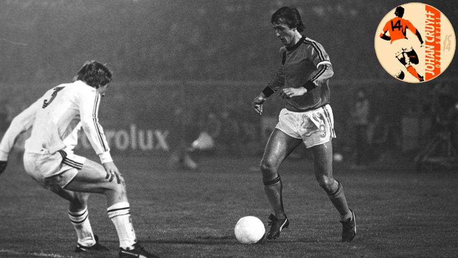 Cruyff Belçikaya KarşıLOGOLU